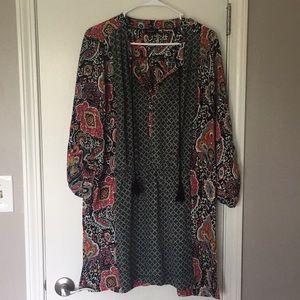 Colorful lightweight dress